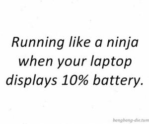 battery, true, and laptop image