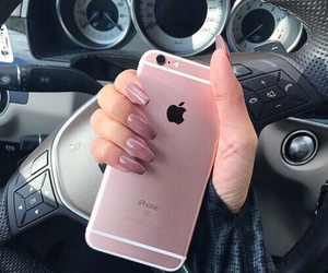 car, handy, and pink image