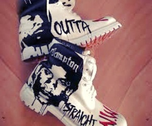straight outta compton, timberlands, and nwa image