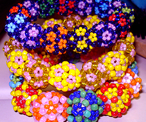 bracelet, tutorial, and seed beads image