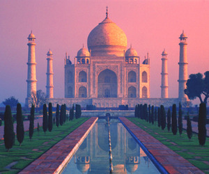 taj mahal, india, and travel image