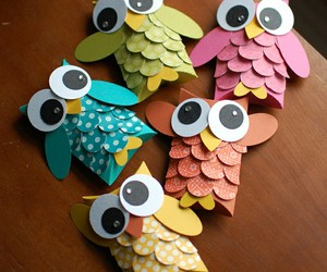 owl and crafts image