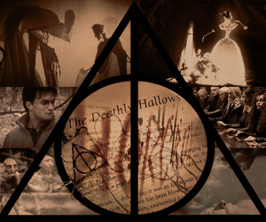 harry potter, deathly hallows, and always image