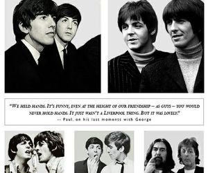 beatles, george harrison, and lovely image