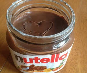 food, nutella, and love image