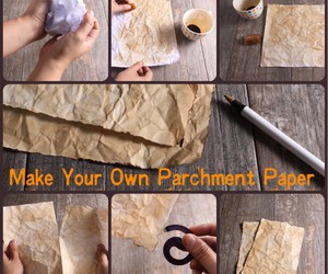 Paper and parchment image