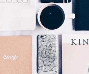 coffee, iphone, and tumblr image