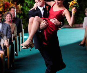 glee, love, and wedding image