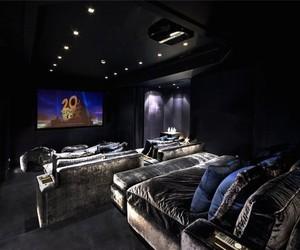 cinema, interior, and fancy image
