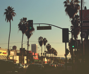 city, summer, and california image