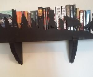 book, bookshelf, and ler image