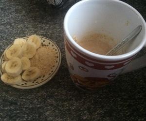 banana, love, and breakfast image