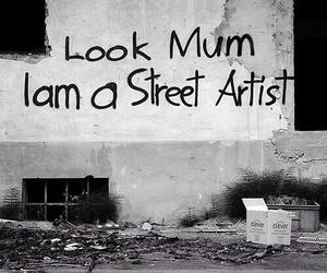 street, artist, and mum image