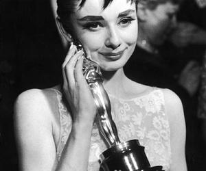 audrey hepburn, oscar, and actress image