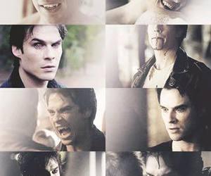 ian somerhalder, damon salvatore, and vampire image