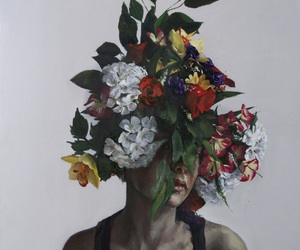 'flowers', 'art', and 'girls' image