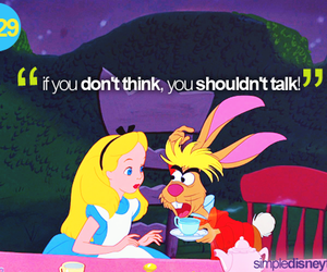 alice, disney, and text image