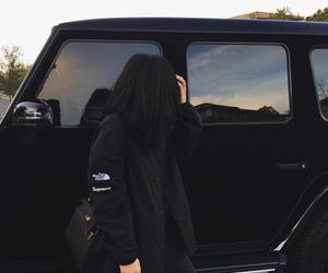 black, kylie jenner, and car image