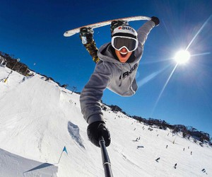 snowboarder and sven image