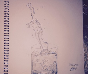 draws and water image