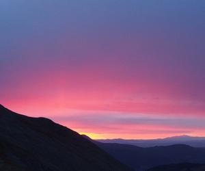 landscape, sky, and sun image