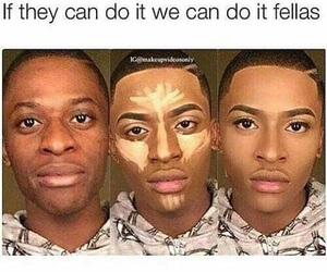 makeup, funny, and lol image