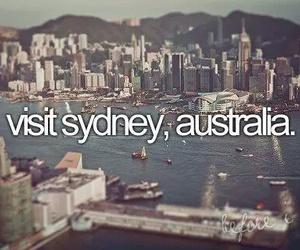 Sydney, australia, and travel image