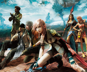 video game, ff xiii, and hope and vanille image
