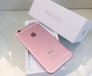 iphone, iphone 6spink, and pastel pink image