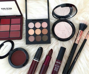 makeup, lipstick, and fashion image