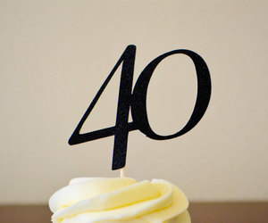etsy, cupcake topper, and number image
