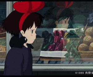 ghibli, studio ghibli, and 魔女の宅急便 image