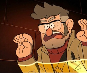 gravity falls, stanford pines, and ford image