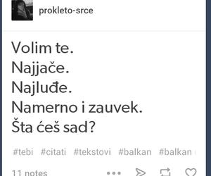 balkan and ljubavni citati image