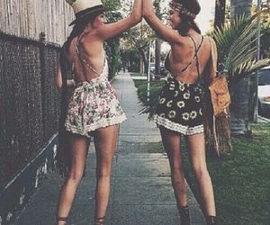 friends, summer, and boho image