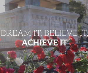 believe, Dream, and dreams image
