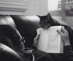 black white book image