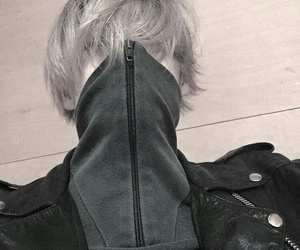 asian, fashion, and gray image