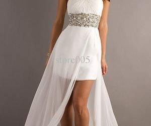 diamonds, dress, and Prom image