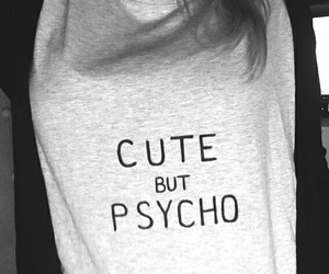 fashion, girl, and Psycho image