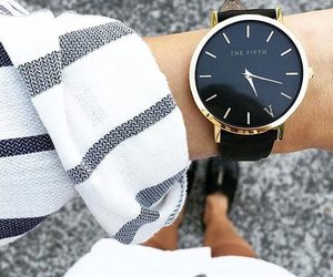 watch, fashion, and outfit image