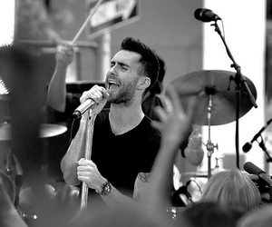 maroon 5, adam, and adam levine image