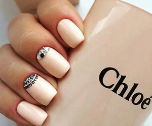 nails, chloe, and art image