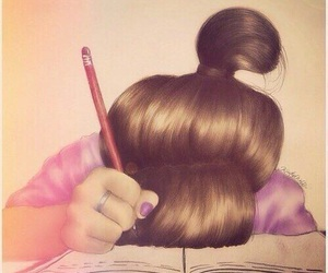 ew, exams, and school image