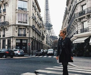 france, girl, and parís image