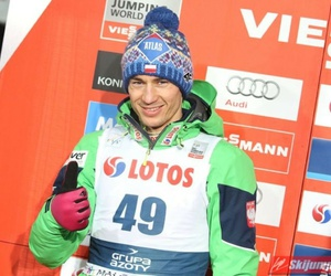 happy, kamil stoch, and Poland image