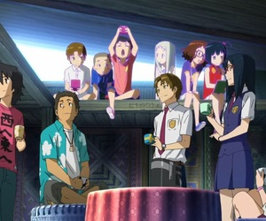 anime, cry, and ano hana image