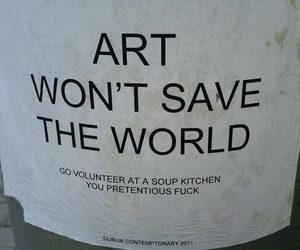 art, quotes, and funny image