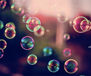 bubbles and colorful image