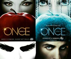 eyes, once upon a time, and poster image